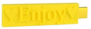 Sunny yellow flash drive gift