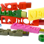 custom made usb gifts: 3d printed flash drives in different colours