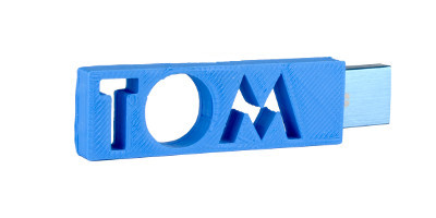 tom personalised usb case