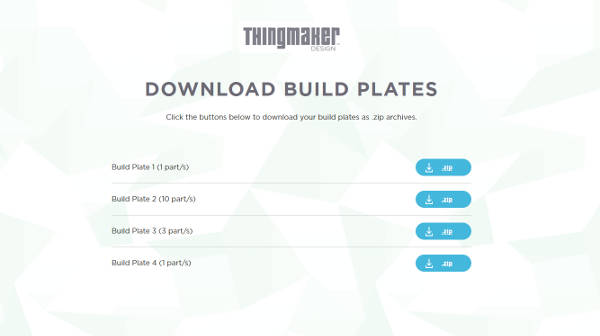 ThingMaker Design app download page